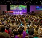 60' by 20' Wall of DPI Projection Delivers Incomparable Experience to Congregation