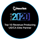 NewTek 2020 Channel Awards Winner